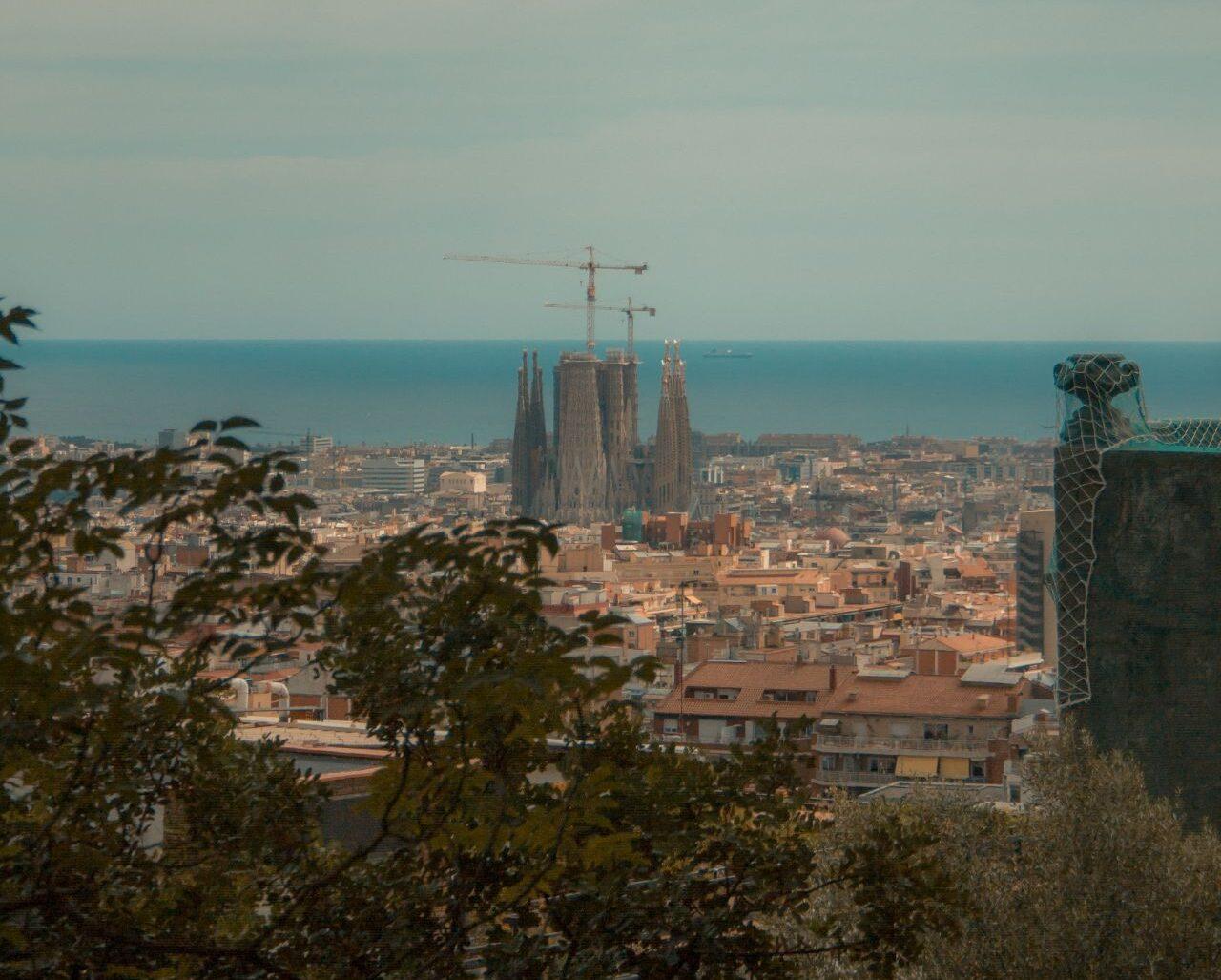 I went to Barcelona, Spain!